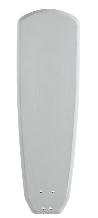 "Fanimation B360MW 60"" Buttonwood Blade in Matte White (Set of 5)"