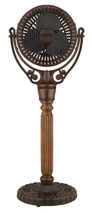 Fanimation FPH70CP Old Havana Pedestal Column in Carved Post (For Old Havana Fan Motor FPH210)