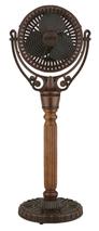 Fanimation FPH70CP Old Havana Pedestal Column in Carved Post (For Old Havana Fan Motor FPH210)