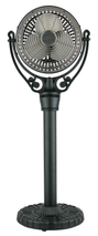 Fanimation FPH70BL Old Havana Pedestal Column in Black (For Old Havana Fan Motor FPH210)