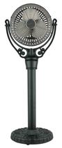 Fanimation FPH70BL Old Havana Pedestal Column in Black (For Old Havana Fan Motor FPH210)