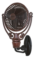 Fanimation FPH61BL Old Havana Wall Mount in Black (For Old Havana Fan Motor FPH210)
