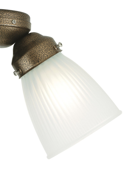 Fanimation G100F 2 1/4 Glass Light Kit in Ribbed Frosted White
