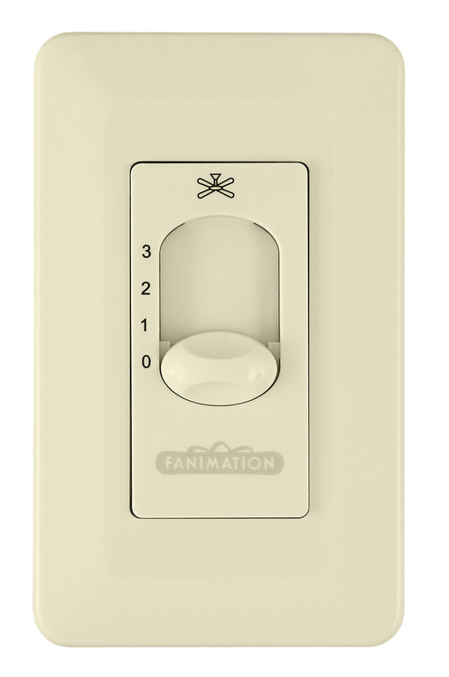 Fanimation CW1LA Ceiling Fan Control in Light Almond