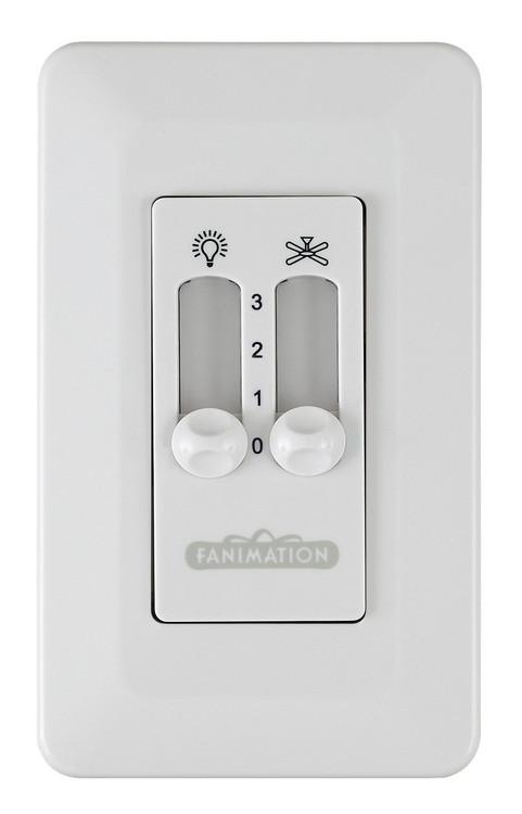 Fanimation CW2WH Ceiling Fan Control in White