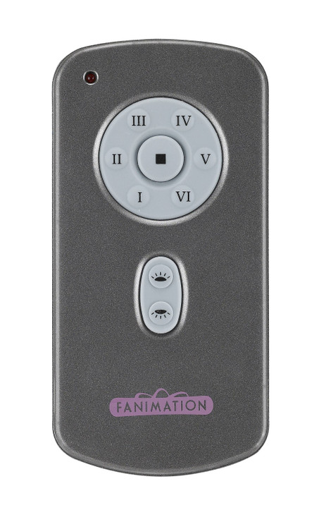 Fanimation TR31 Ceiling Fan Control in Grey