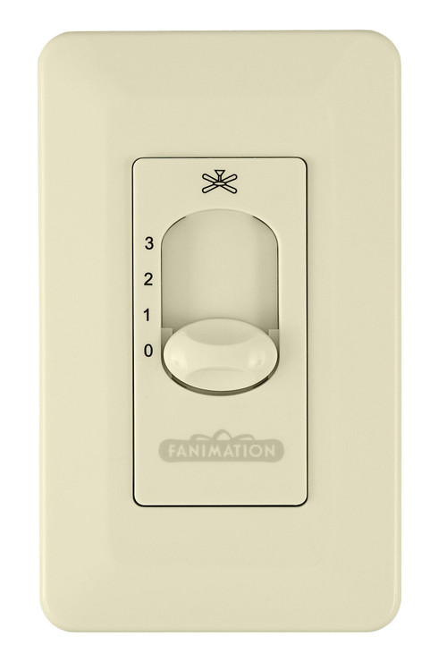 Fanimation CW5LA Ceiling Fan Control in Light Almond