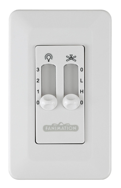 Fanimation CW6WH Ceiling Fan Control in White