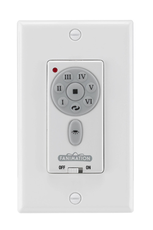 Fanimation TW30WH Ceiling Fan Control in White