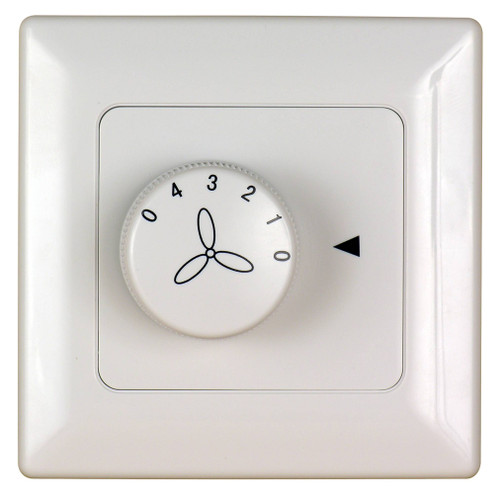 Fanimation C1-220 Wall Control for Fan Only (3-Speed/Non-Rev) in White (220V)