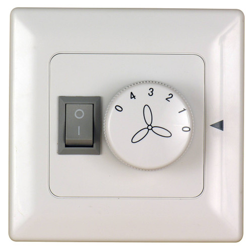 Fanimation C2-220 Wall Control for Fan & Light (3-Speed/Non-Rev) in Ivory (220V)