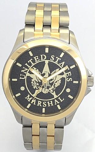 U.S. Marshal Watch Black Dial
