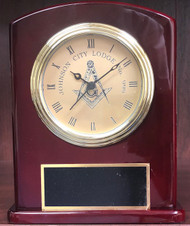 Custom Masonic Award Clock