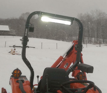 Led Light Bar Rops Tractor Mounting Kit