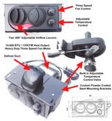Ice Crusher Compact Hisun 500/700 Heater Kit