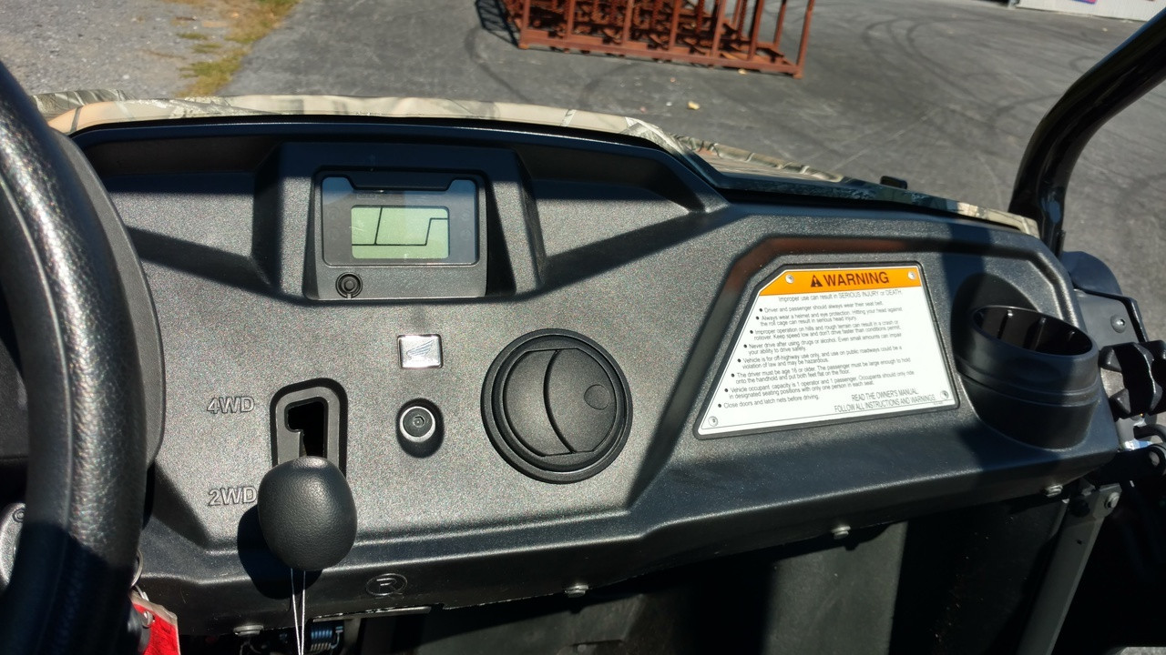 Ice Crusher Cab Heater for up to '16 Honda Pioneer 500
