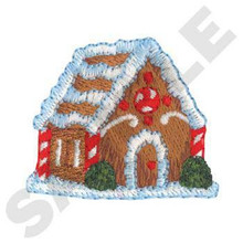 Gingerbread house 1 (XM0886)