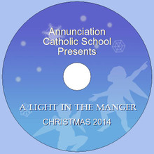 Annunciation Christmas 2014 (A Light in The Manger)
