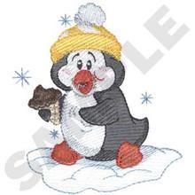 Eating Ice Cream Penguin (CH2245)