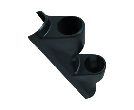 87-97 Ford F-Series Dual Pillar Gauge Pod