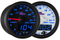 MaxTow Double Vision 2200 Degree Exhaust Gas Temperature Gauge
