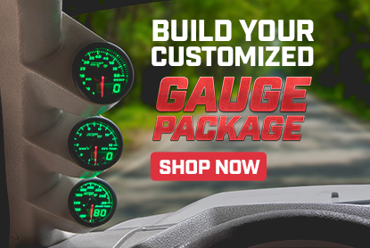 maxtow build your own custom gauge package