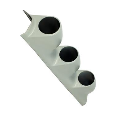 Universal Gray Triple Pillar Gauge Pod