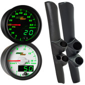98-02 Dodge Ram Cummins Full Size Dual MaxTow Custom Gauge Package