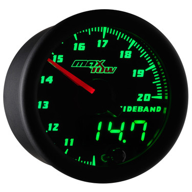 MaxTow Double Vision Wideband Air/Fuel Ratio Gauge