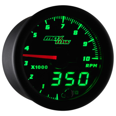 MaxTow Double Vision Tachometer Gauge