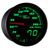 MaxTow Double Vision 200 PSI Air Pressure Gauge