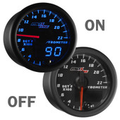 Black and Blue MaxTow 2200° F Exhaust Temperature Gauge