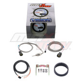 White & Blue MaxTow 2200 F Exhaust Gas Temperature Gauge Unboxed