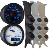 1999-2007 Ford Super Duty Power Stroke Blue MaxTow Custom Gauge Package