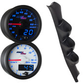 Blue MaxTow 1995-1998 Chevy C/K Full Size Truck Gauge Package