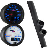 94-97 Dodge Ram Cummins Full Size Dual Blue MaxTow Custom Gauge Package