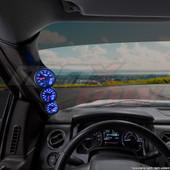 2009-2014 Ford F-150 Triple Pillar Pod Installed Straight View