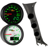 2009-2014 Ford F-150 Green MaxTow Custom Gauge Package Thumb