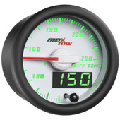 White & Green MaxTow Differential Temperature Gauge