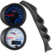 Blue MaxTow Triple Gauge Package for 2003-2008 Ford E-Series Van