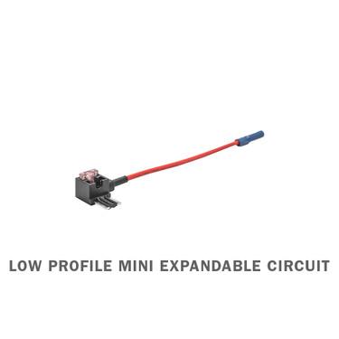 Low Profile Mini Expandable Circuit & 4 Amp Fuse
