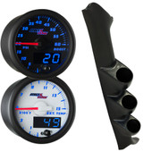 Blue MaxTow Triple Gauge Package for 1997-2002 Ford F-150