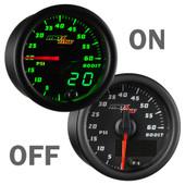 MaxTow 60psi Diesel Boost Gauge On/Off