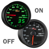 MaxTow 100psi Fuel Pressure Gauge On/Off