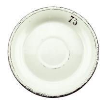 Antique Absinthe Saucer/Coaster, Black Rim 75