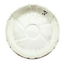 Antique Absinthe Saucer/Coaster, Gold Scalloped Rim 3f 41121
