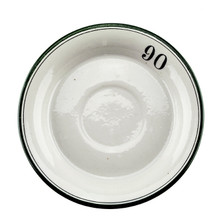 Antique Absinthe Saucer/Coaster, Green Rim 90