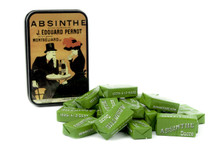 Absinthe Edouard Pernot Tin Box & 40 Wrapped Sugar Cubes (20 packets)