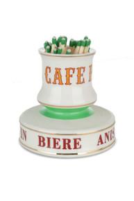 B-Stock - Café Paris Porcelain Match Strike