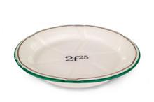 B-Stock - Porcelain Absinthe Coaster/Saucer, 2f25, Green/Gold